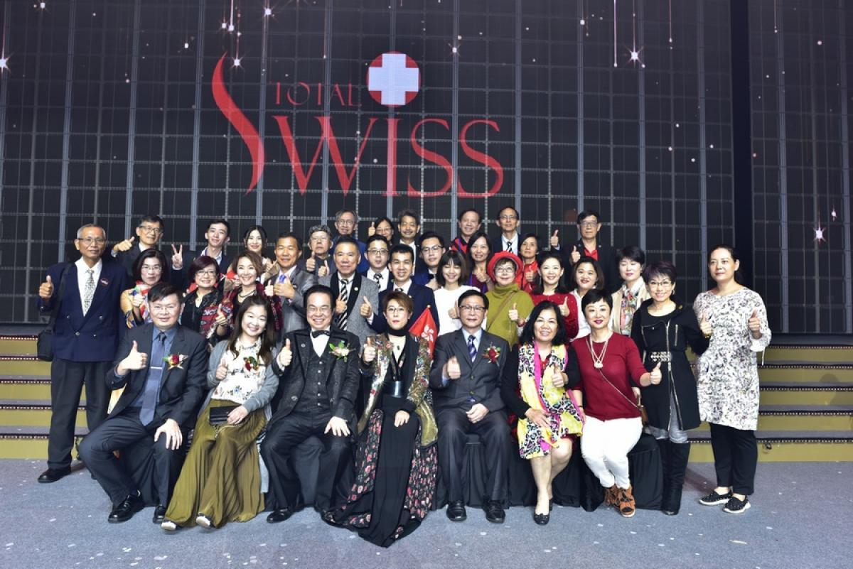 風雨生信心 能量無法擋 Total Swiss韓國公司二周年慶精彩傳真圖細胞營養之5