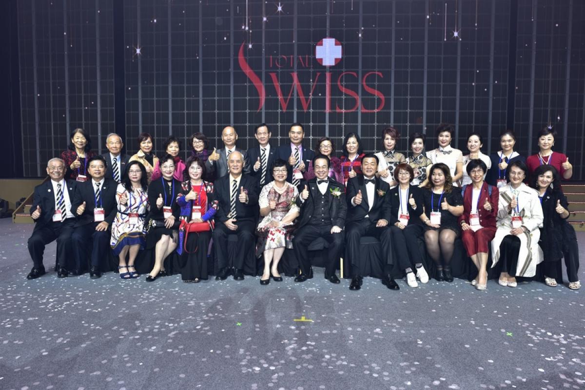 風雨生信心 能量無法擋 Total Swiss韓國公司二周年慶精彩傳真圖細胞營養之4