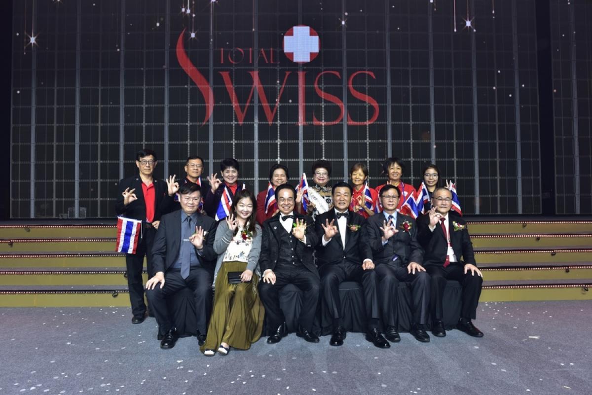 風雨生信心 能量無法擋 Total Swiss韓國公司二周年慶精彩傳真圖細胞營養之7