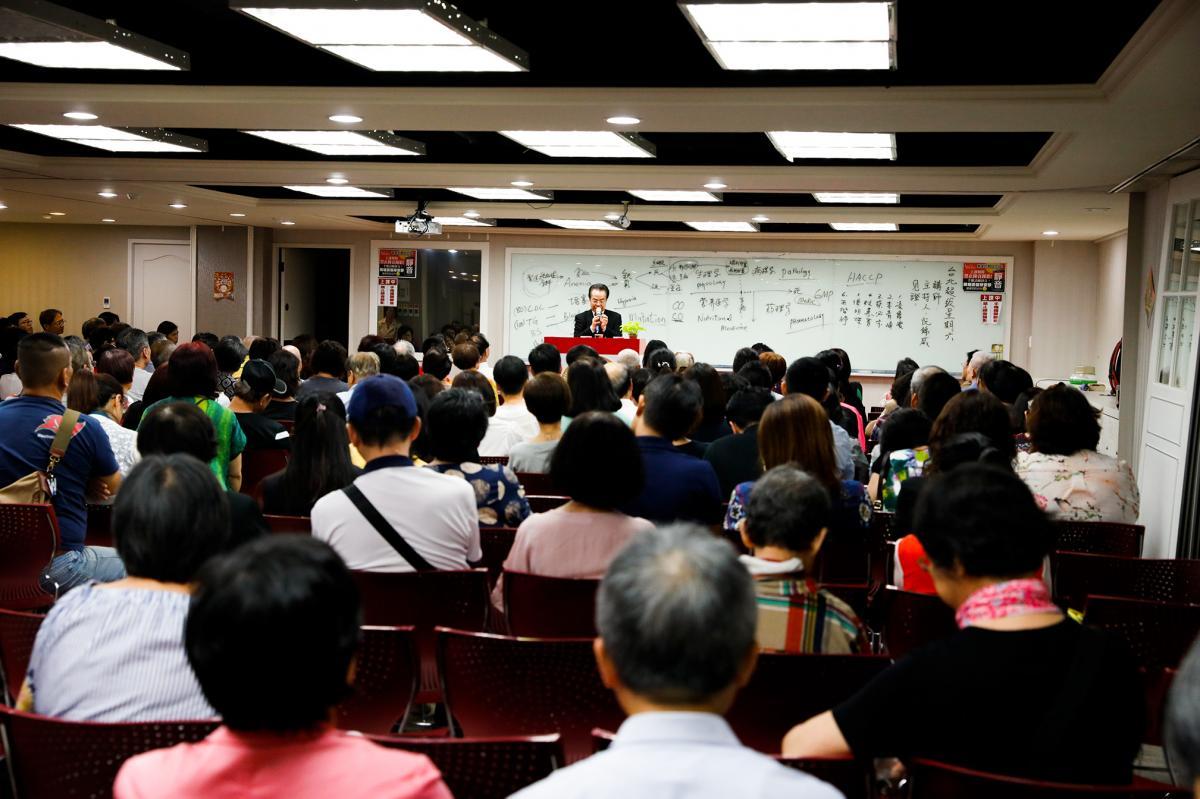 東京台北連續講座 王博士勤奮做表率 引領夥伴邁進新紀元圖細胞營養之2