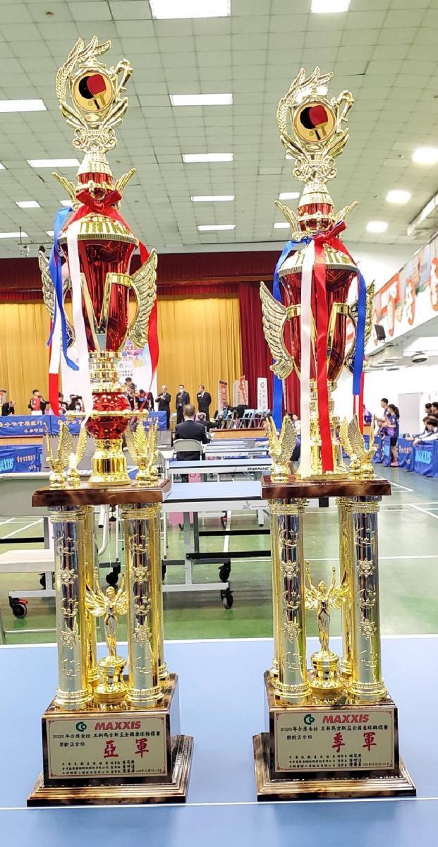 合庫主辦全國桌球錦標賽 1300位好手同台競技 Total Swiss贊助隊伍勇奪冠亞季軍圖細胞營養之2