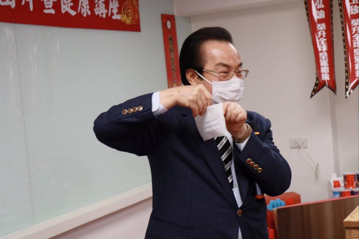 面對新冠肺炎危機 戴上口罩提升抗病力 穩住自己守護家人圖細胞營養之2