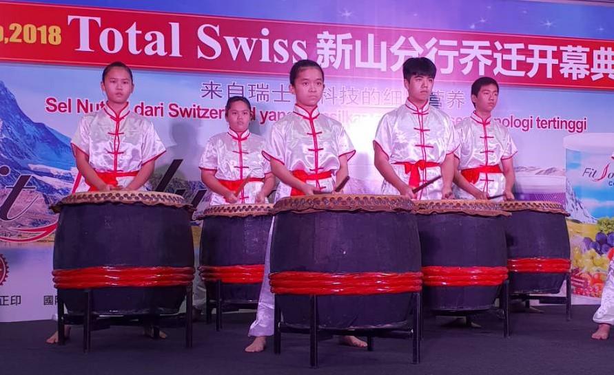 Total Swiss正式邁入馬來友族新紀元 馬來西亞新山分行喬遷典禮記實圖細胞營養之1