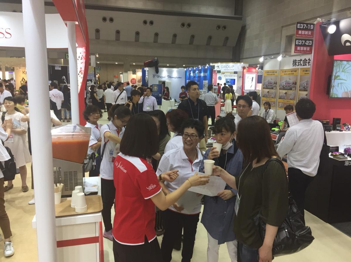 第五屆東京健康與美容大展 Total Swiss銳不可擋 Day 1傳真圖細胞營養之4
