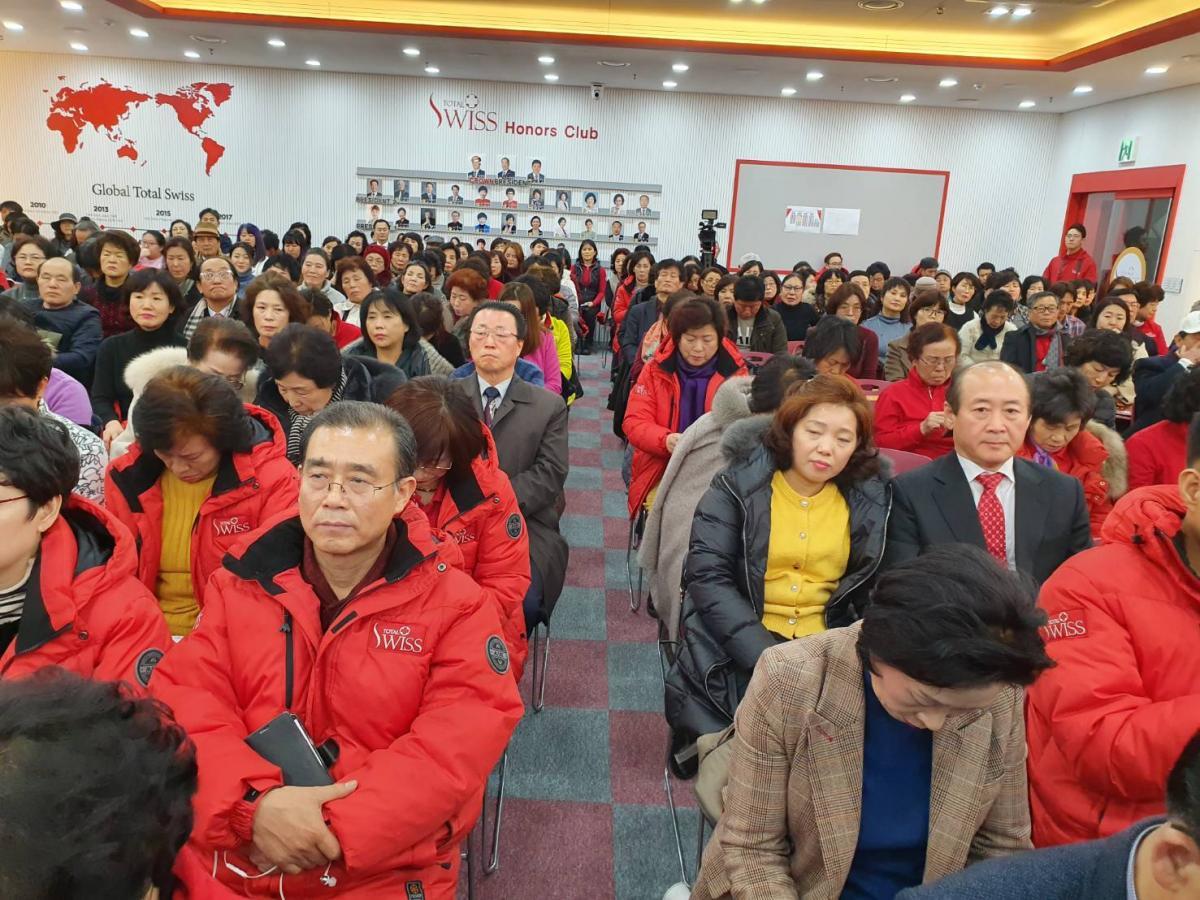 2020 Total Swiss首場健康講座從首爾出發 王博士勉勵韓國夥伴繼續Fighting圖細胞營養之2