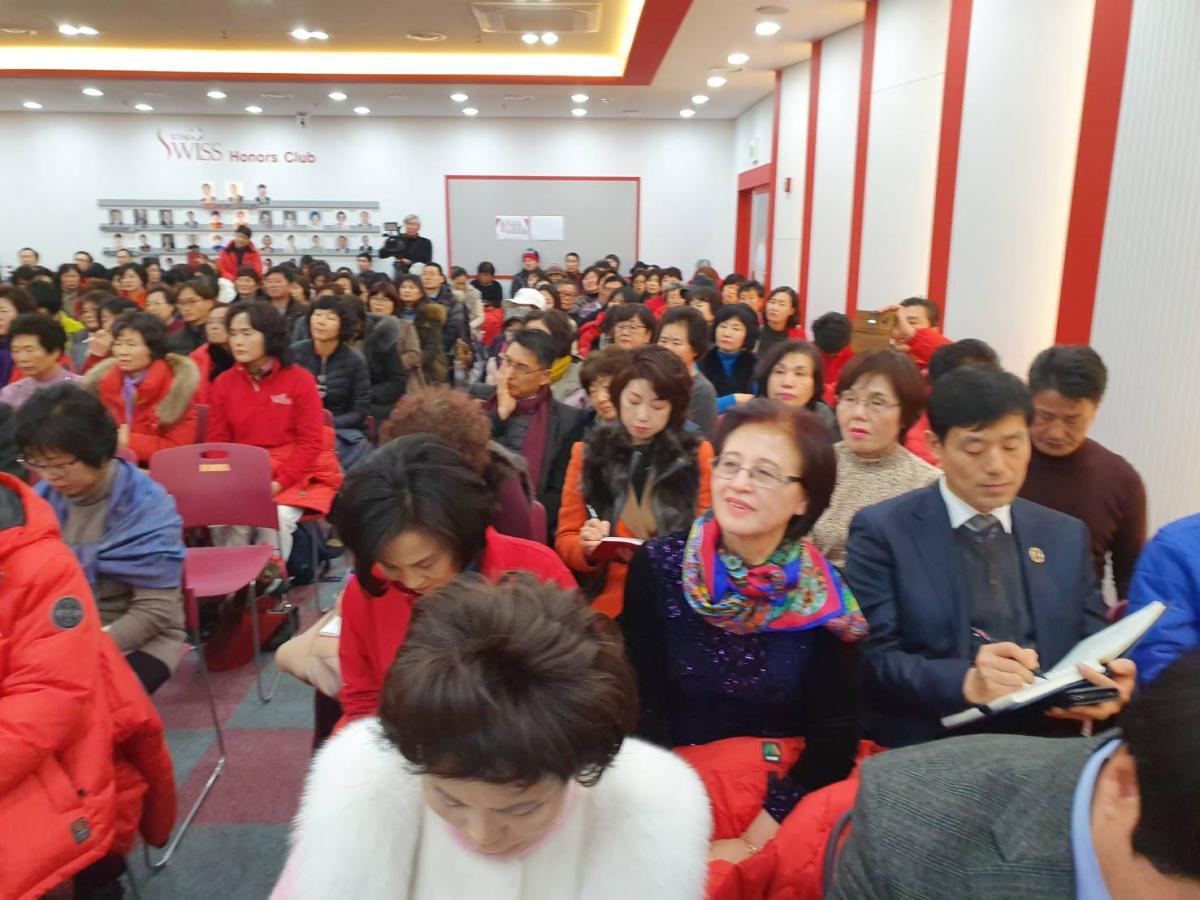 2020 Total Swiss首場健康講座從首爾出發 王博士勉勵韓國夥伴繼續Fighting圖細胞營養之3