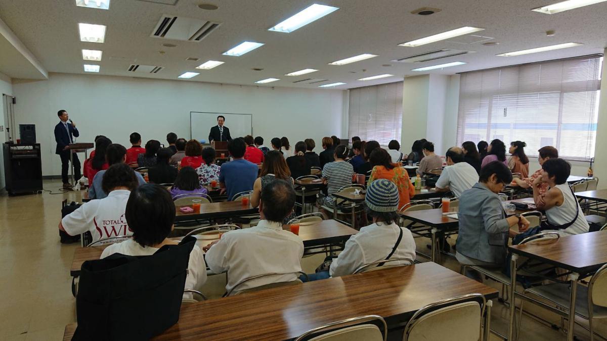 王博士栃木辦講座,Total Swiss日本公司邁入全面擴散、快速成長期圖細胞營養之2