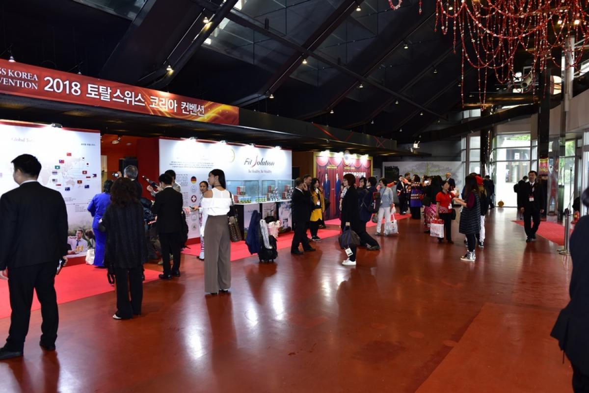 風雨生信心 能量無法擋 Total Swiss韓國公司二周年慶精彩傳真圖細胞營養之17