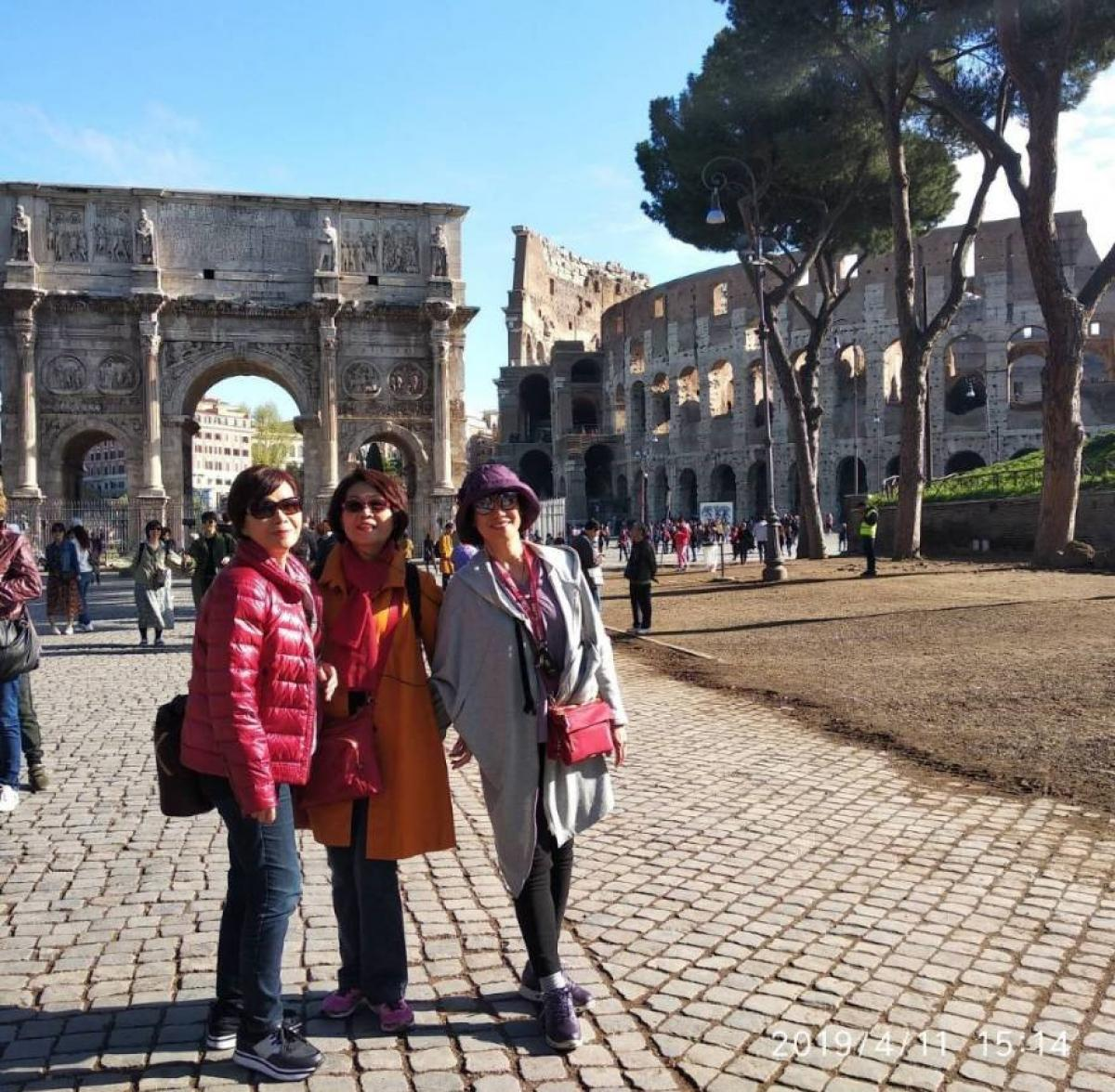 佛羅倫斯、威尼斯、羅馬,我的北義七日圖細胞營養之3