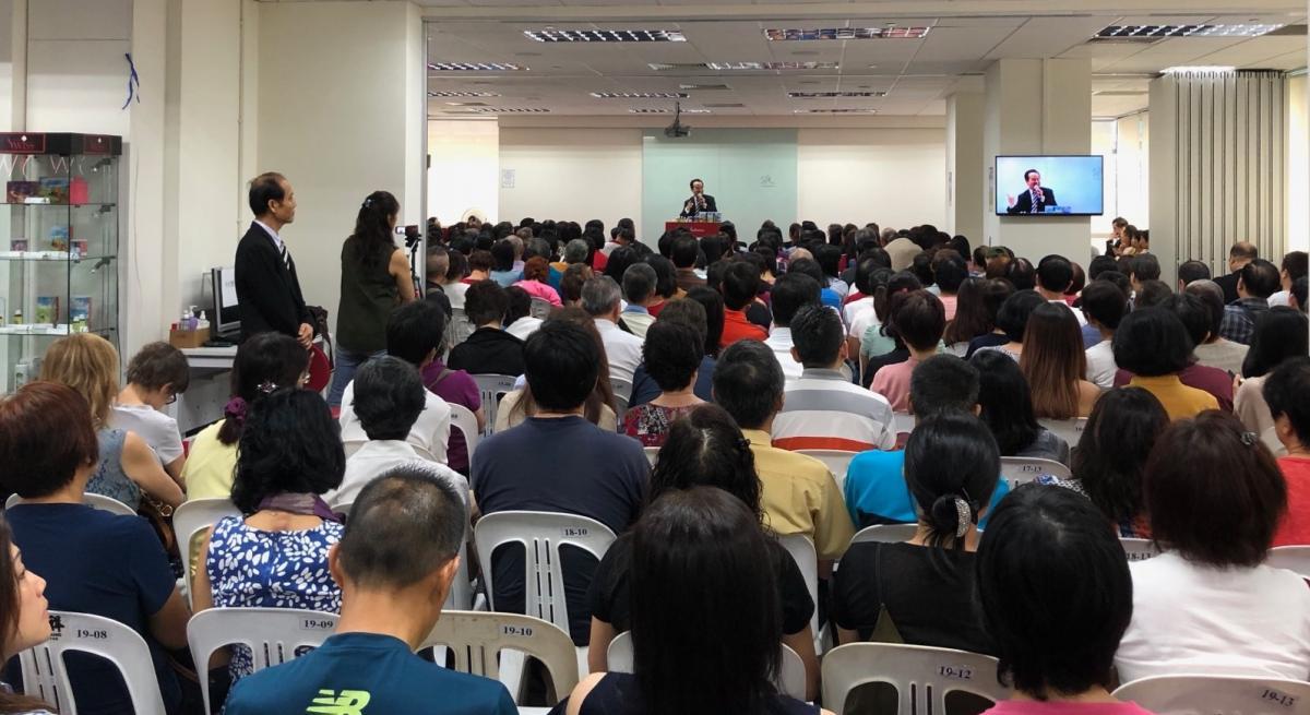 Total Swiss王文欽博士第1222場健康講座風靡新加坡圖細胞營養之3