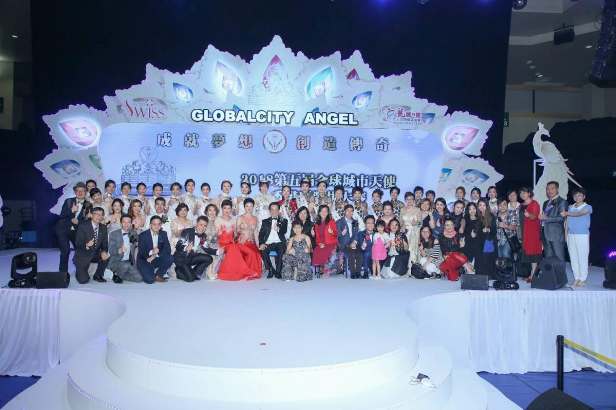 孔雀開屏 絢爛奪目 第五屆全球城市天使香港區選拔大賽美麗直擊圖細胞營養之14