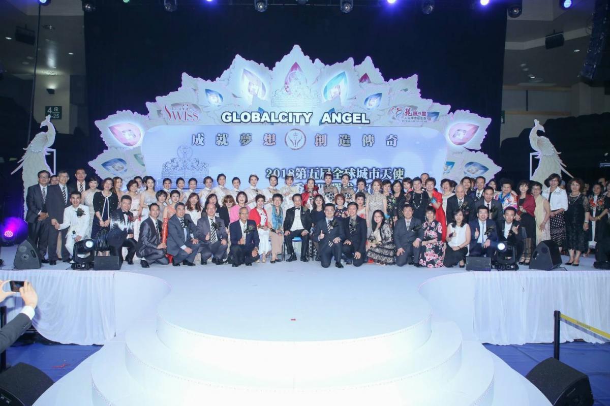 孔雀開屏 絢爛奪目 第五屆全球城市天使香港區選拔大賽美麗直擊圖細胞營養之15