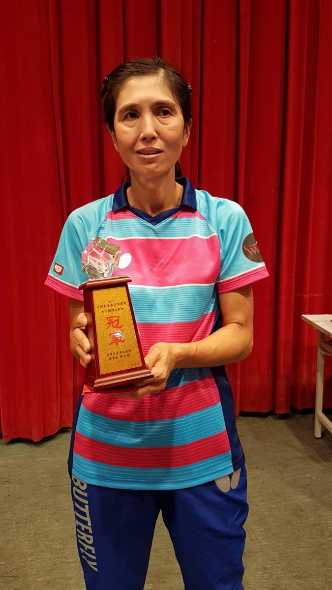Total Swiss女子桌球隊 勇奪台灣長青盃三冠王圖細胞營養之5