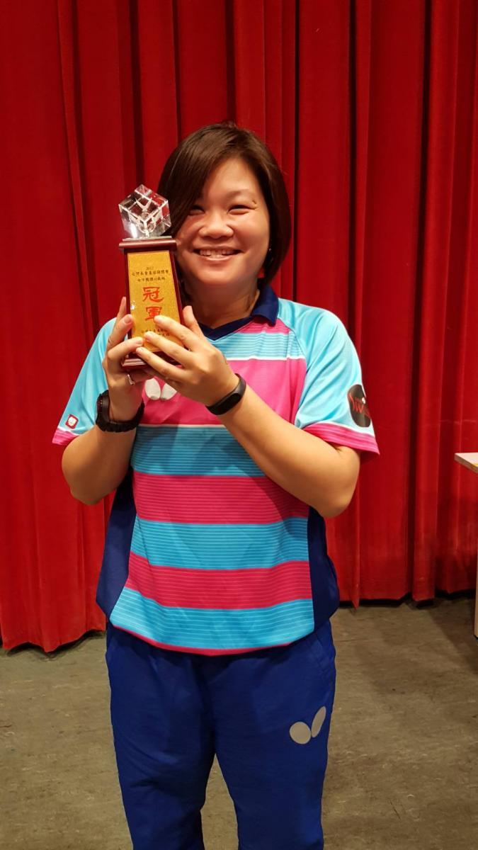Total Swiss女子桌球隊 勇奪台灣長青盃三冠王圖細胞營養之3