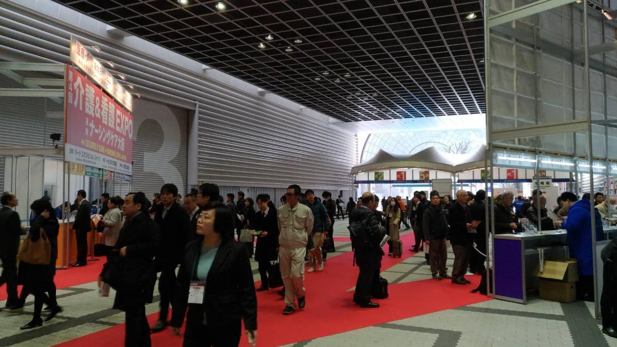 Total Swiss Today - Total Swiss遠離長照主張大獲好評 大阪展覽旗開得勝圖之2