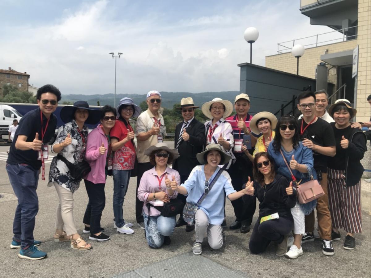 Total Swiss羅馬之旅七月團,在比薩見證改變世界的奇跡圖細胞營養之5